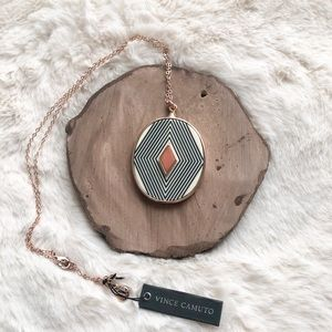 Vince Camuto Geometric Necklace
